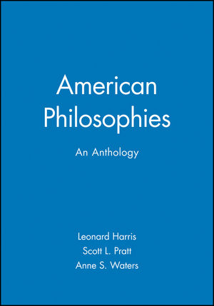 American Philosophies: An Anthology