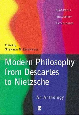 Modern Philosophy - From Descartes to Nietzsche: An Anthology (0631214216) cover image