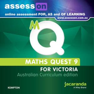 Assesson Maths Quest 9 Australian Curriculum Victoria Edition (Online Purchase)