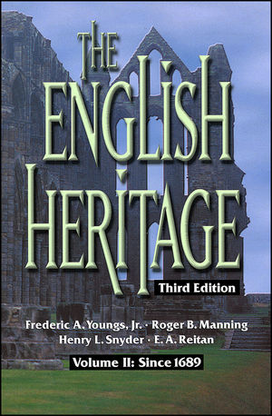 The English Heritage: Volume II: Since 1689, 3rd Edition