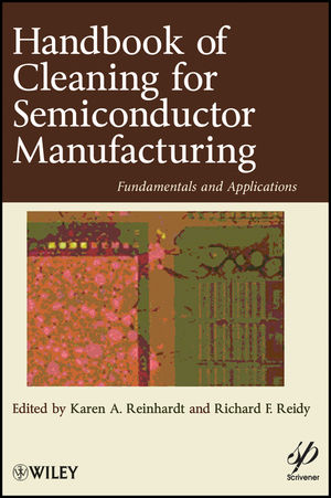 Handbook for Cleaning for Semiconductor Manufacturing: Fundamentals and Applications (1118099516) cover image
