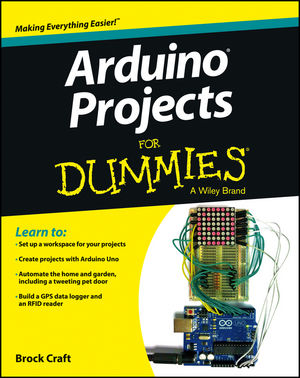 Arduino Projects For Dummies (1118551516) cover image