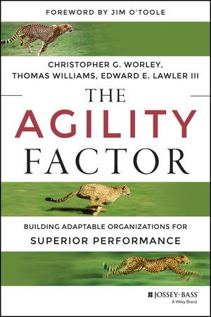 The Agility Factor: Building Adaptable Organizations for Superior Performance (1118821416) cover image