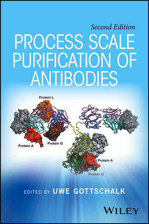 Process Scale Purification of Antibodies, 2nd Edition (1119126916) cover image