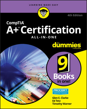 CompTIA A+ Certification All-in-One For Dummies, 4th Edition (1119255716) cover image