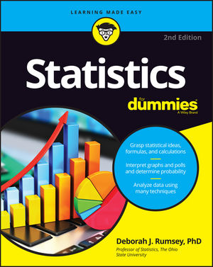 Statistics For Dummies, 2nd Edition (1119297516) cover image