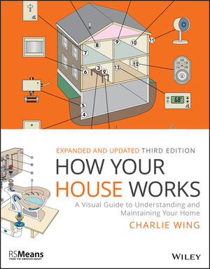 How Your House Works: A Visual Guide to Understanding and Maintaining Your Home, 3rd Edition