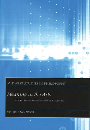 Meaning In The Arts, Volume XXVII