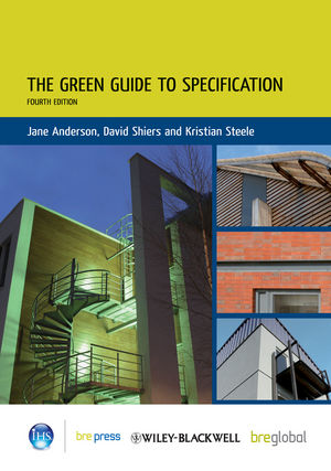 The Green Guide to Specification, 4th Edition
