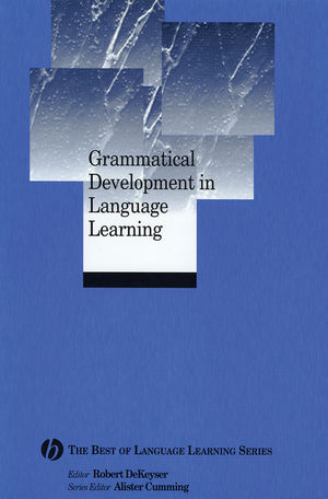 Grammatical Development in Language Learning: The Best of Language Learning Series (1405135816) cover image