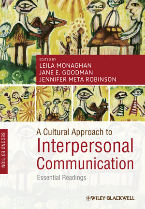 A Cultural Approach to Interpersonal Communication: Essential Readings, 2nd Edition (1444335316) cover image