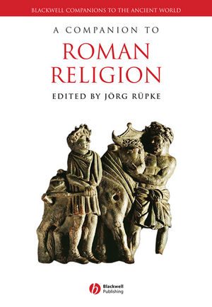 A Companion to Roman Religion (1444341316) cover image