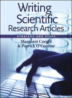 Writing Scientific Research Articles: Strategy and Steps (1444356216) cover image