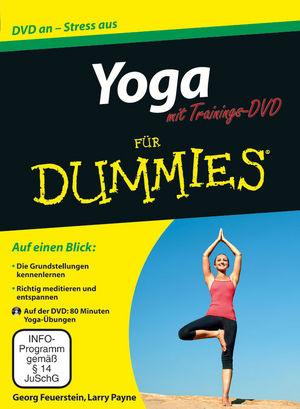 Yoga für Dummies mit Video-DVD