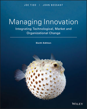 Managing Innovation, 6th Edition (EHEP003716) cover image