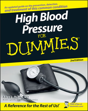 High Blood Pressure for Dummies, 2nd Edition (0470137517) cover image