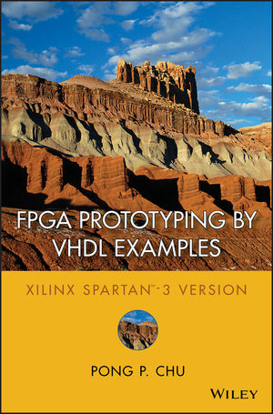 Book Cover Image for FPGA Prototyping by VHDL Examples: Xilinx Spartan-3 Version