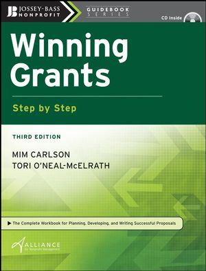 Winning Grants Step by Step, 3rd Edition (0470445017) cover image