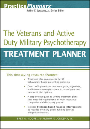 The Veterans and Active Duty Military Psychotherapy Treatment Planner (0470506717) cover image