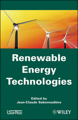 Renewable Energy Technologies (0470610417) cover image