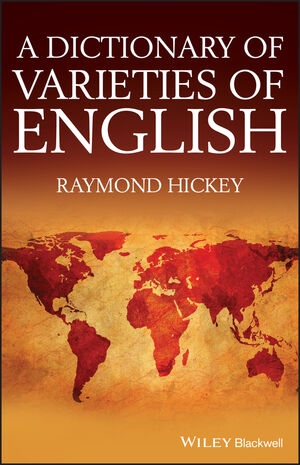 A Dictionary of Varieties of English (0470656417) cover image