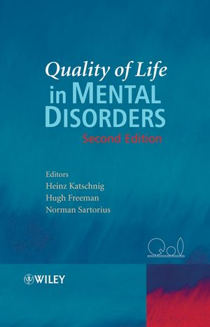 Quality of Life in Mental Disorders, 2nd Edition