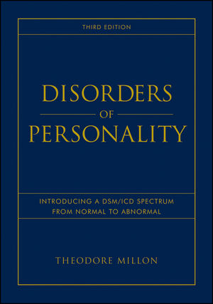 Disorders of Personality: Introducing a DSM/ICD Spectrum from Normal to Abnormal, 3rd Edition (0470891017) cover image