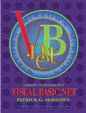 Learning to Program with VISUAL BASIC.Net  (0471229717) cover image