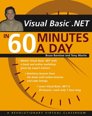 VB .NET in 60 Minutes a Day (0471481017) cover image