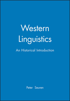 Western Linguistics: An Historical Introduction
