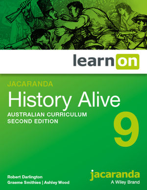 Jacaranda History Alive 9 Australian Curriculum learnON (Online Purchase)