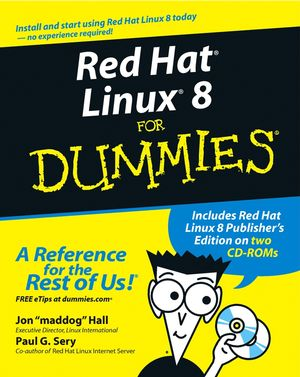Red Hat® Linux® 8 For Dummies® (0764516817) cover image