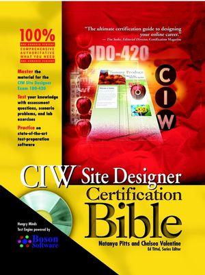 CIW Site Designer Certification Bible