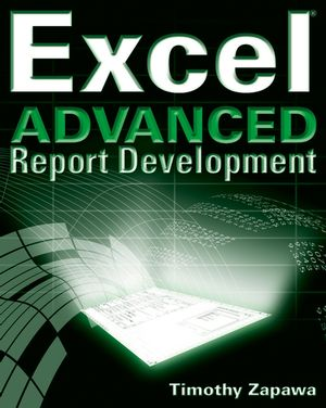 Excel Advanced Report Development (0764588117) cover image