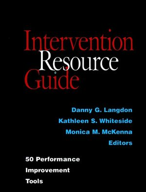 Intervention Resource Guide: 50 Performance Improvement Tools (0787944017) cover image