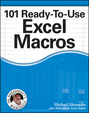 101 Ready to Use Excel Macros Sample Files