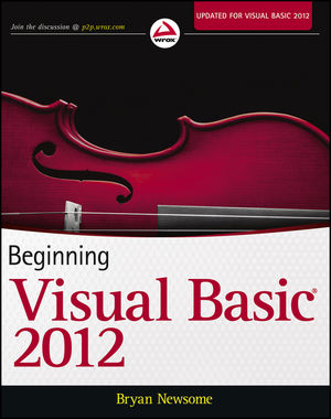 Beginning Visual Basic 2012 (1118311817) cover image