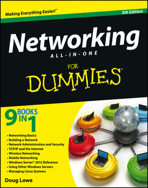 Networking All-in-One For Dummies, 5th Edition (1118381017) cover image