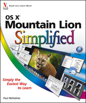 OS X Mountain Lion Simplified (1118401417) cover image