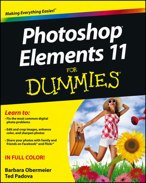 Photoshop Elements 11 For Dummies (1118408217) cover image