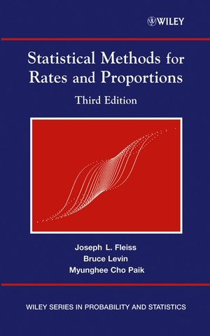 Statistical Methods for Rates and Proportions, 3rd Edition (1118625617) cover image