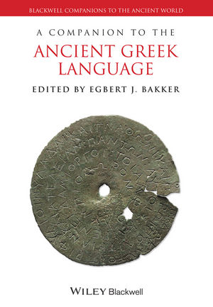 A Companion to the Ancient Greek Language (1118782917) cover image