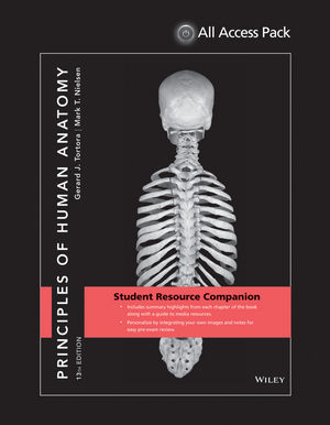 Principles of Human Anatomy 13E All Access Pack