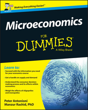 Microeconomics For Dummies - UK, UK Edition (1119026717) cover image