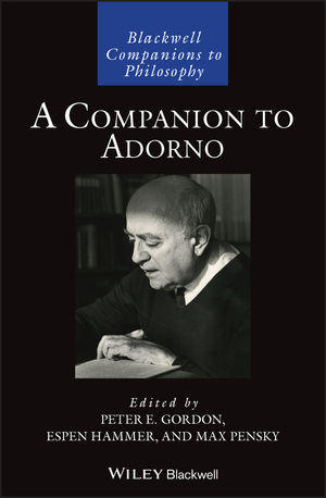 A Companion to Adorno