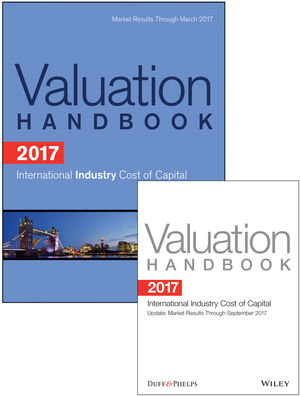 2017 International Valuation Handbook - Industry Cost of Capital + Semiannual PDF Update (Set) (1119366917) cover image