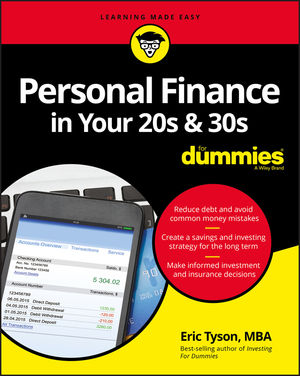 Personal <span class='search-highlight'>Finance</span> in Your 20s and 30s For Dummies