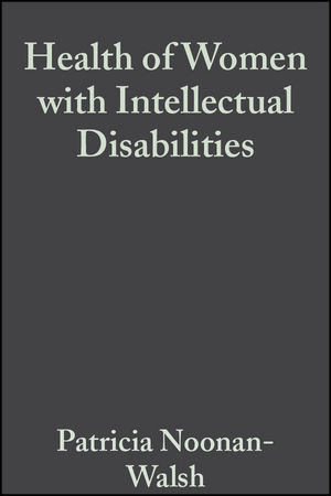 Health of Women with Intellectual Disabilities (1405172517) cover image