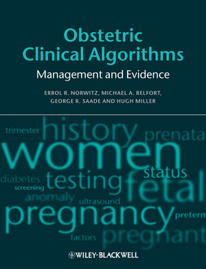 Obstetric Clinical Algorithms: Management and Evidence (1405181117) cover image