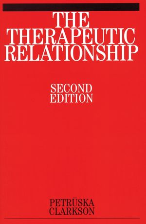 The Therapeutic Relationship, 2nd Edition (1861563817) cover image